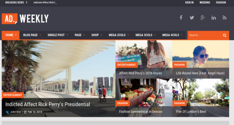 Temas de WordPress para bibliotecas y unidades de información ...